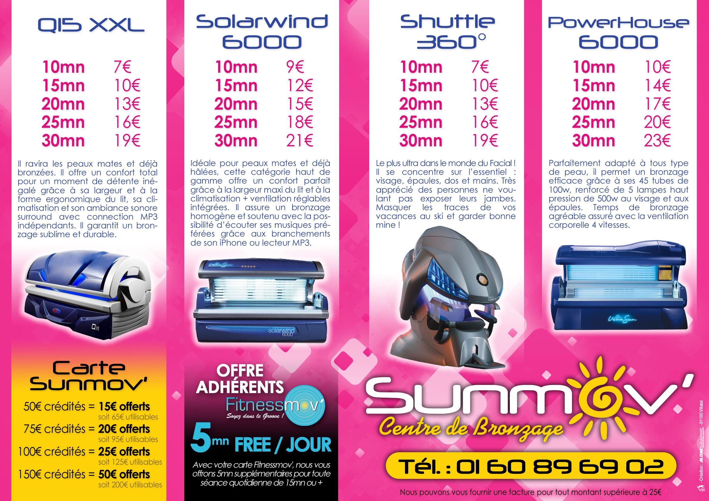 Centre UV 91 - machine uv