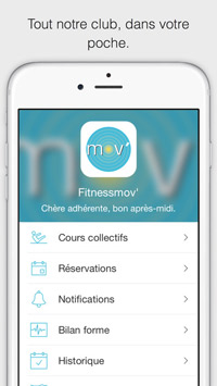 Application coaching personnalisé club de sport 91 – Fitness Mov'